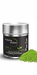Matcha Moon Pure Zen authentic premium ceremonial grade organic Japanese tea