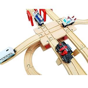 wooden train accessory
