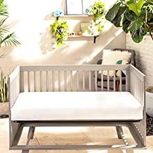 Crib mattress in crib