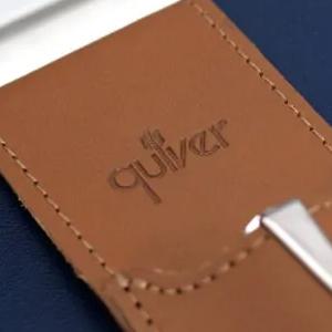 Full grain leather Quiver