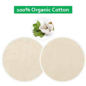 100% GOTS Certified Organic Cotton