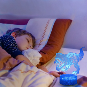 dinosaur night light can be as a bedside light