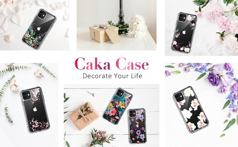 iPhone 11 case floral