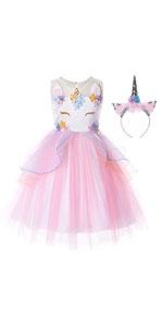Flower Girls Unicorn Costume