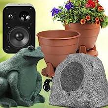 unique outdoor speaker selection