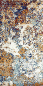 Persian Rugs 6490 Multi Colored 5 x 7 Abstract Modern Area Rug