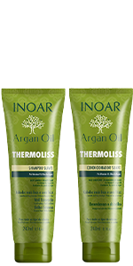 Argan Thermoliss Shampoo & Conditioner Duo (8.05 oz/240 ml)