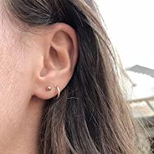 cartilage earrings hoop
