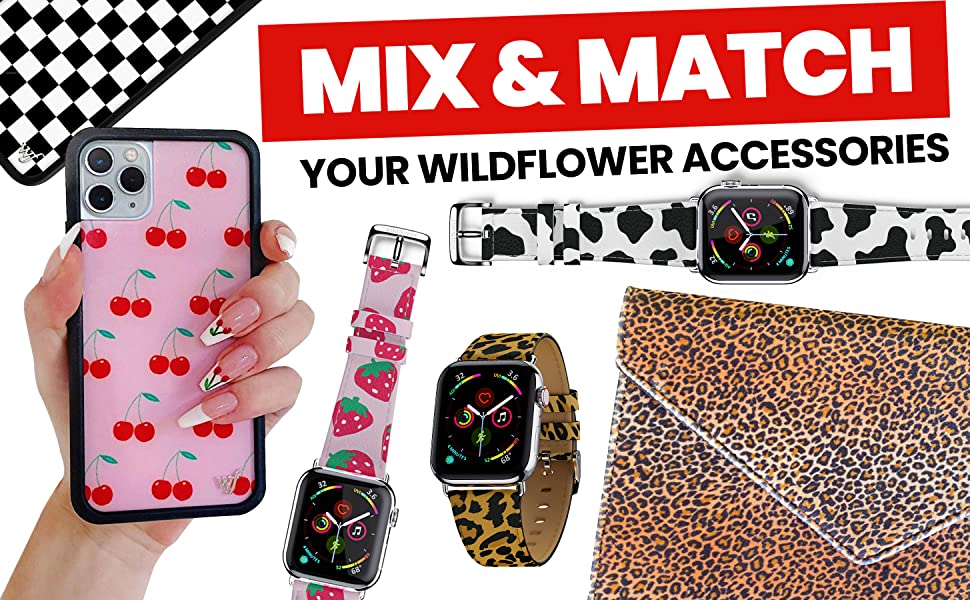 MIX AND MATCH YOUR WILDFLOWER ACCESSORIES
