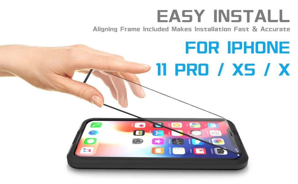iPhone 11 Pro/xs/x screen protector