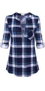 plaid shirts for women