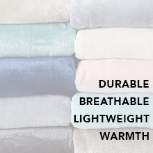 durable breathable lightweight warm