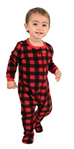 Leveret, fleece robes, fleece pajamas, kids pajamas, kids robes, matching family