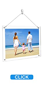 hanging wire picture frame