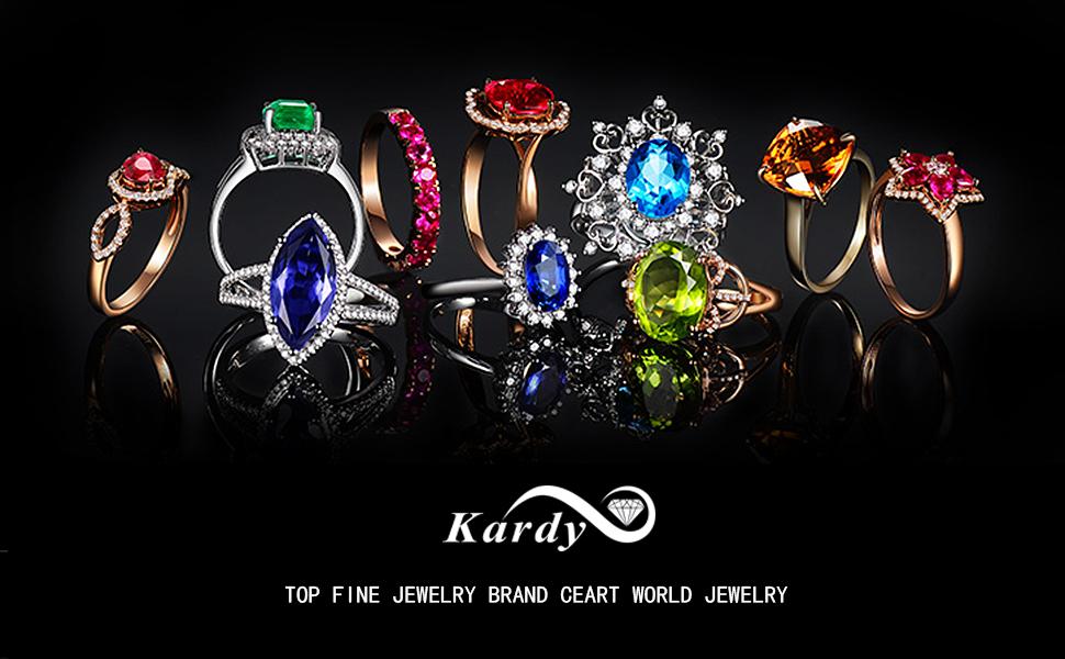 Color Gemstone Jewelry Ring Earrring Pendant Bracelet