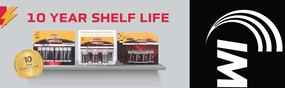10 Year Shelf Life