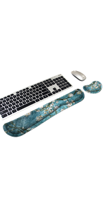 Wrist Rests for Keyboard and Mouse