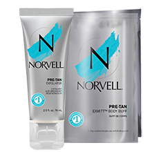 body exfoliator pre tannig session skin prep for fake tan no streak tanning