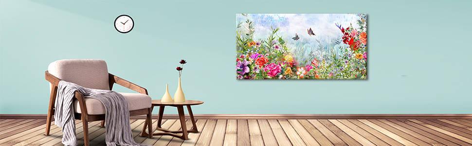 flower canvas