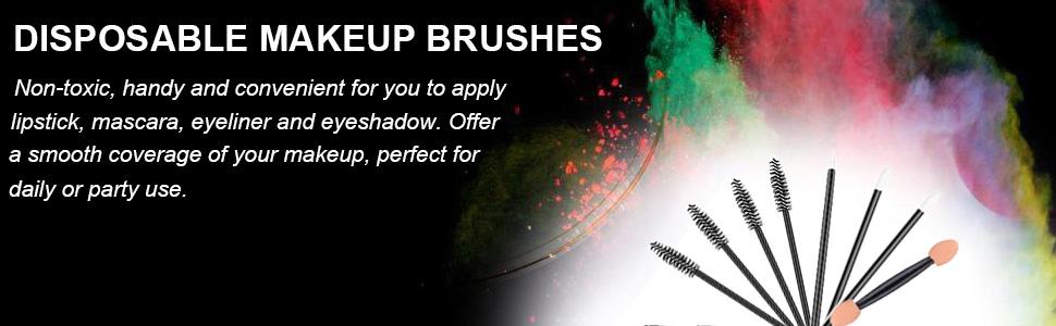 disposable makeup brush