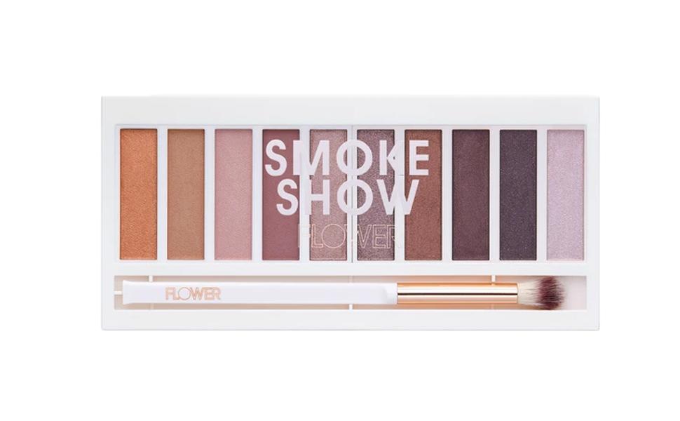 Flower Beauty Shimmer & Shade Eyeshadow Palette, Smoke Show