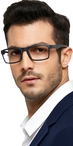 TR90 durable reading glasses men ultra-light readers