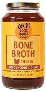 chicken bone broth soup