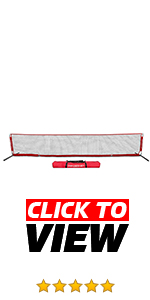 PowerNet Soccer Tennis Net is perfect for working on first and second touches.