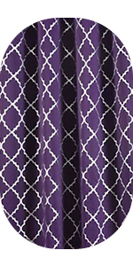 moroccan blackout curtains for bedroom