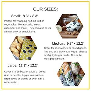 NIL beeswax food wraps