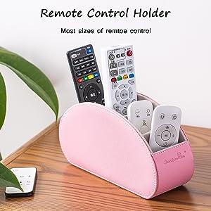 remote control holder pink Barbie powder