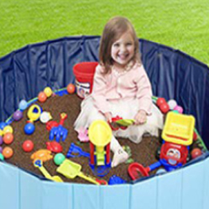 it also can be used as children's ball pool or sand box