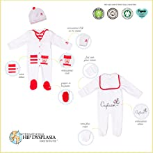 footie, organic, sleeper, baby Clothing, Layette Sets,  baby organic cotton, Sleep N Play Pajama