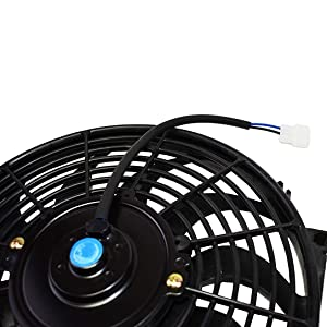 Radiator Electric Cooling Fan Car Transmission Cooler Heavy Duty