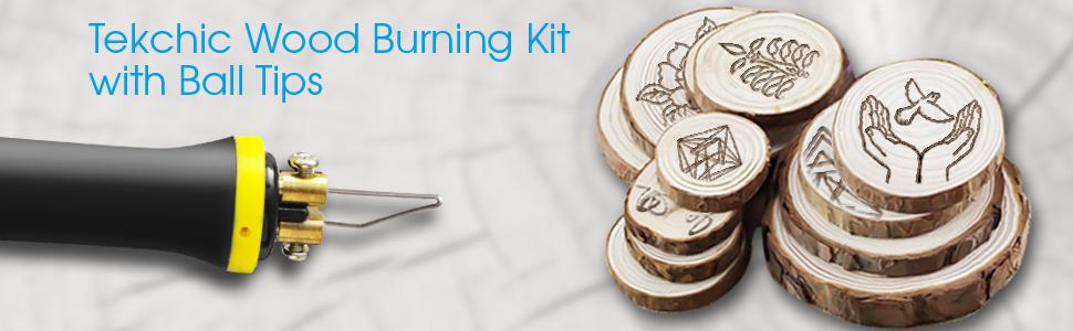 tekchic pro1 wood burning kit set machine