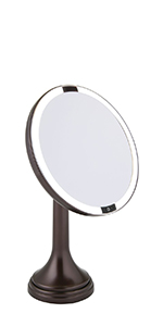 sensor rechargeable bright light round touch master guest