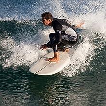 Scubadonkey men wetsuit surfing scuba diving kayaking snorkeling