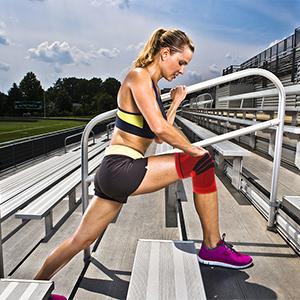 black knee brace for women