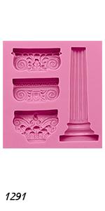 Ancient Greek Pillars Mold