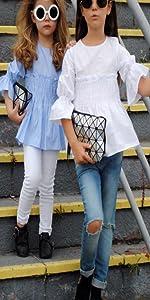 Betusline Girls 2 Piece Pants Set