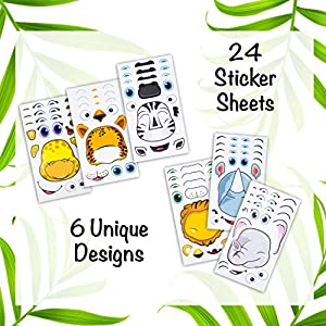 Edgewood toys for kids children child party favors cute colorful safe party favors fun play stickers
