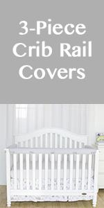crib rail guard cover