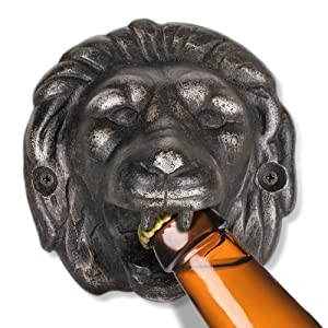 Lion Mountable Bottle Opener