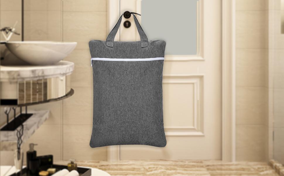 hang wet dry bag