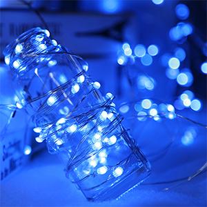 twinkle string lights