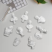 10pcs Mini Figures of Greek Statue-A