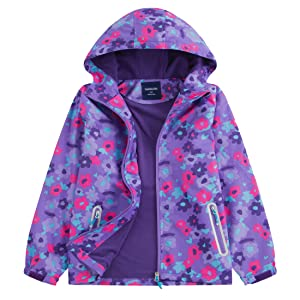 girl wind breaker light raincoat