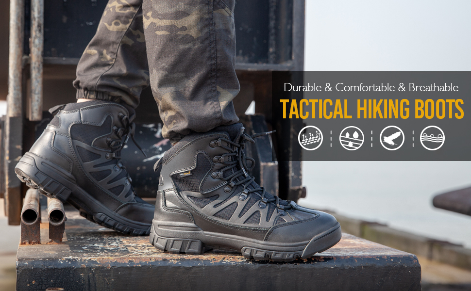 tactical hiking boots