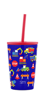 Classic Tumbler with Silicone Straw