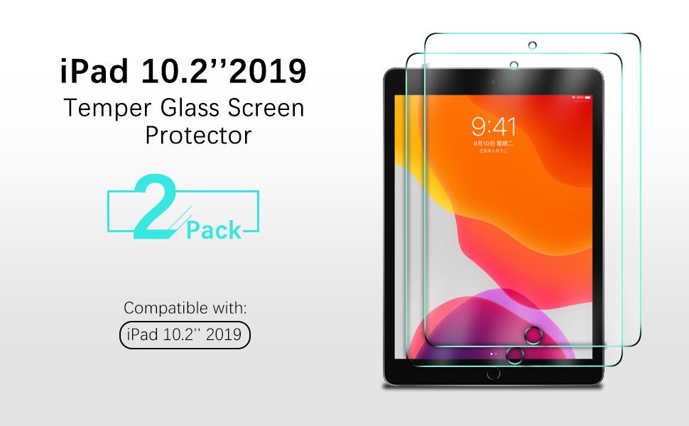iPad 10.2 screen protector
